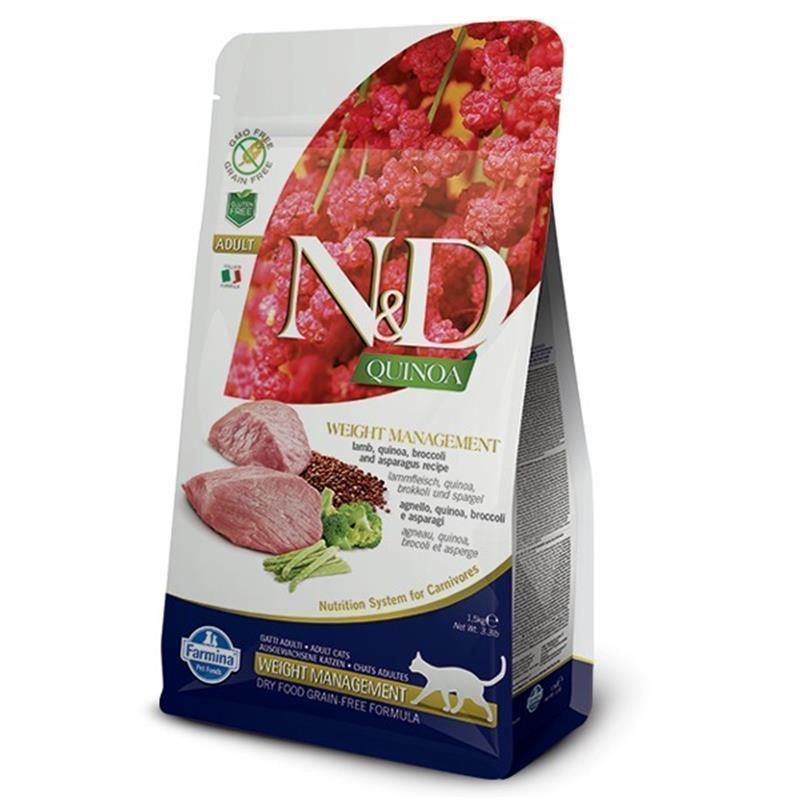 N&D Quinoa Cat Weight Management Lamb