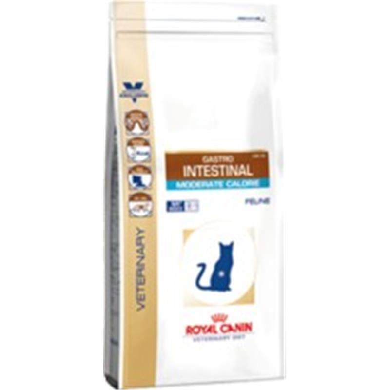 RC Veterinary Diet Cat Gastro Intestinal Moderate Calorie 2kg