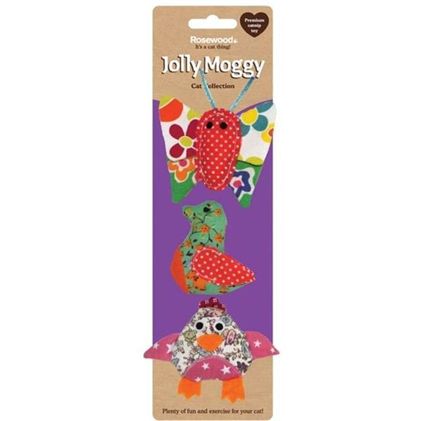 Rosewood Jolly Moggy Patchwork Trio