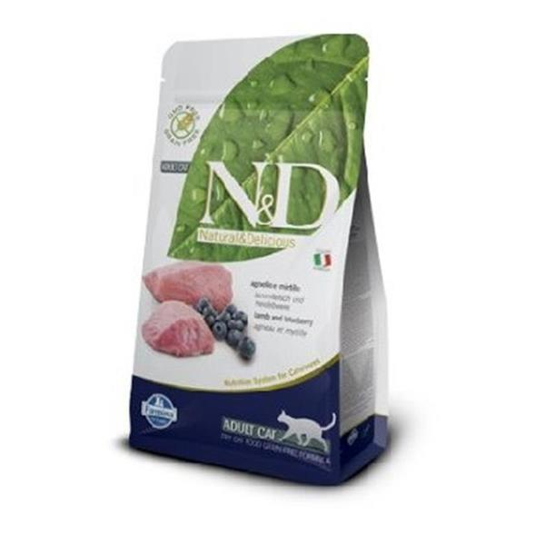 N&D Adult Cat Lamb and Blueberry Grain Free