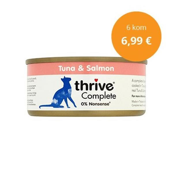 Thrive paket Complete tuna in losos 6x75g