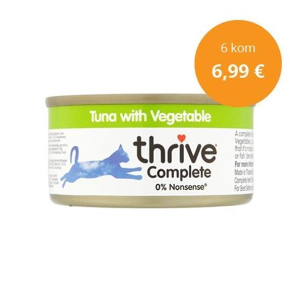 Thrive paket Complete tuna in zelenjava 6x75g