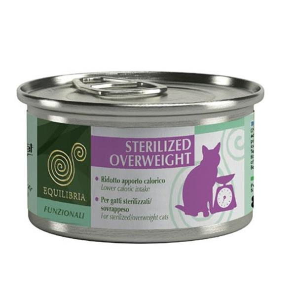 Equilibria Cat Sterilized/Overweight 85g