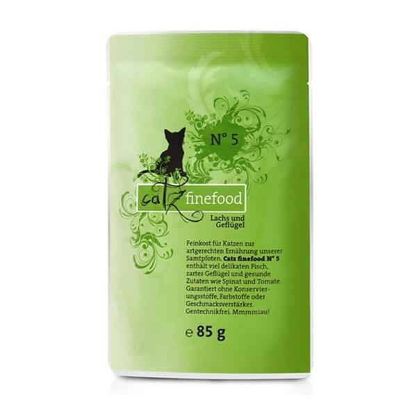 Catz Finefood no. 05 losos in perutnina 85g