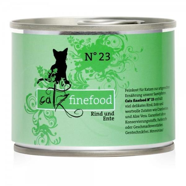 Catz Finefood no. 23 govedina in raca 200g