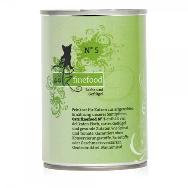 Catz Finefood no. 05 losos in perutnina 400g
