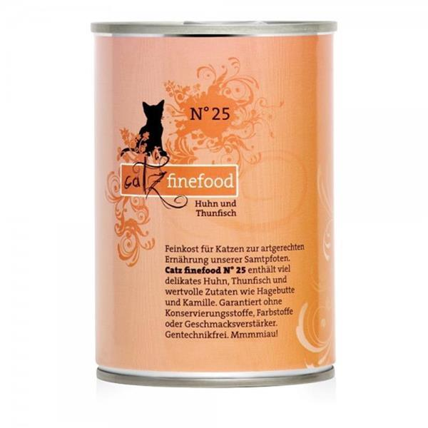 Catz Finefood no. 25 piščanec in tuna 400g