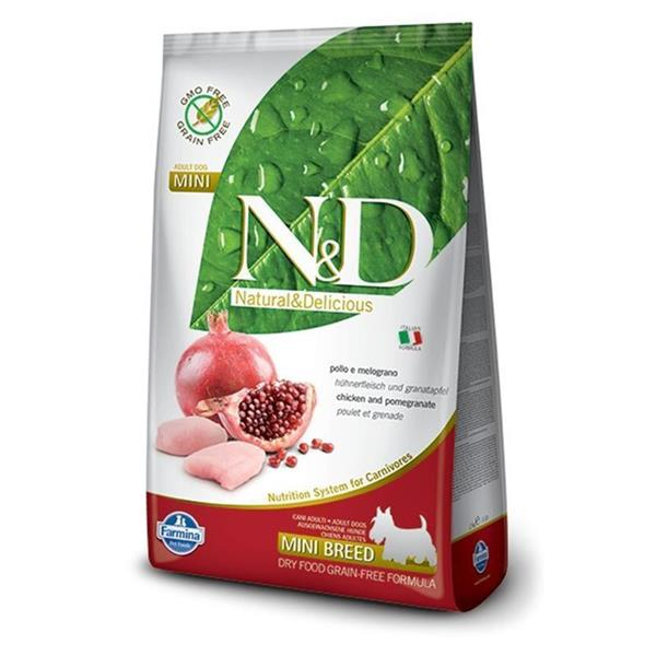 N&D Adult Dog Mini Chicken and Pomegranate Grain Free