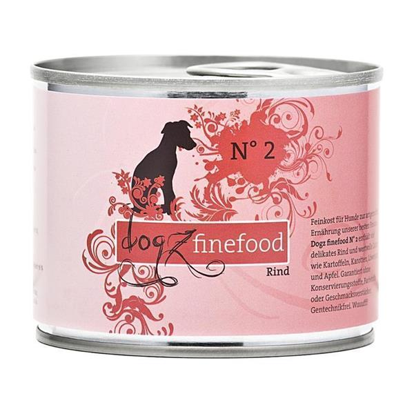 Dogz Finefood no. 2 govedina 200g