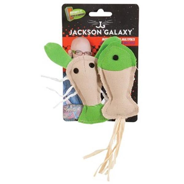 Jackson Galaxy Marinater Toy Fish/Lobster