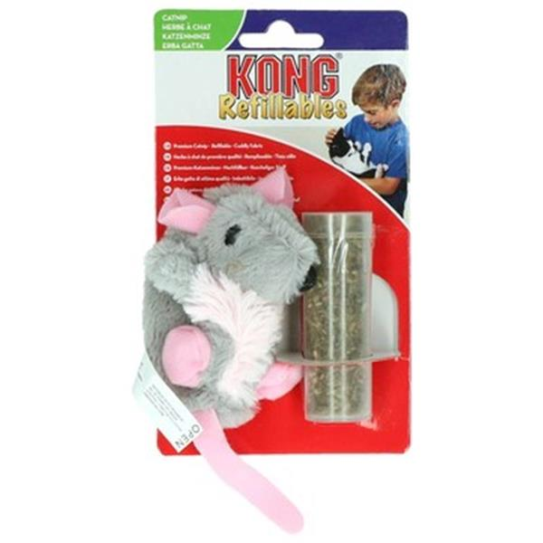 Kong Cat Refillable Catnip Rat