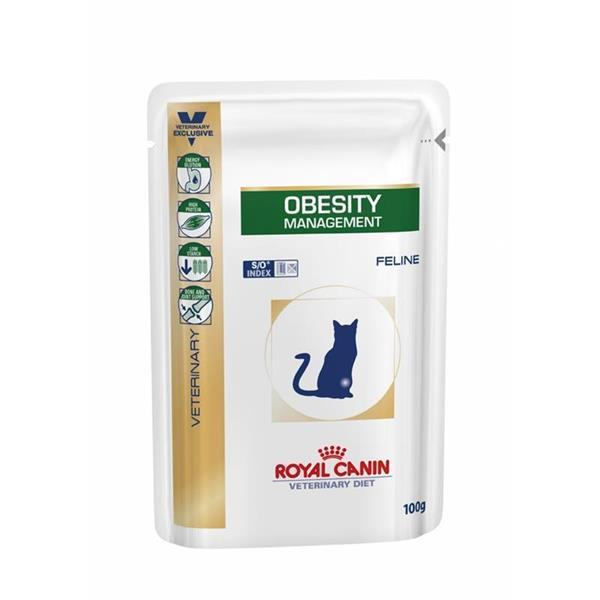 RC Veterinary Diet Cat Obesity vrečka 12x100g