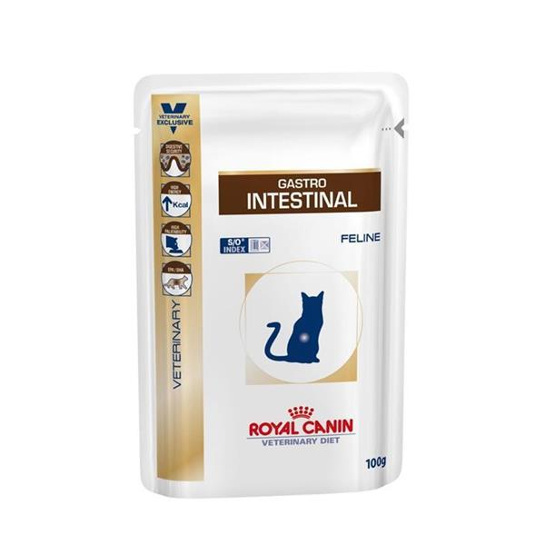 RC Veterinary Diet Cat Gastro Intestinal vrečka 12x100g