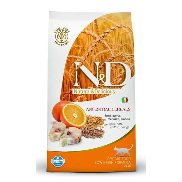 N&D Adult Cat Fish and Orange Low-Grain