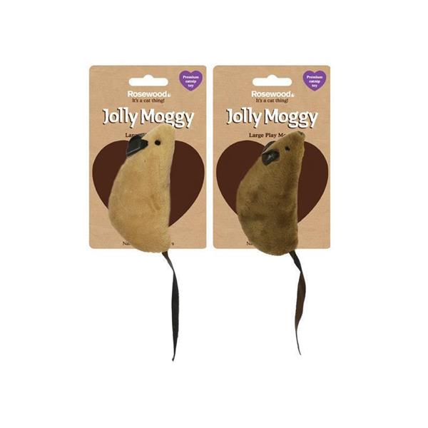 Rosewood Jolly Moggy Catnip Play Mouse