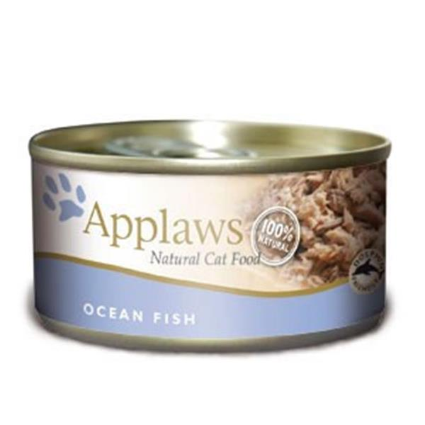 Applaws mokra hrana za mačke Adult Ocean fish 156g