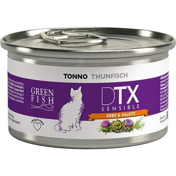Green Fish Cat DTX Sensible tuna 80g