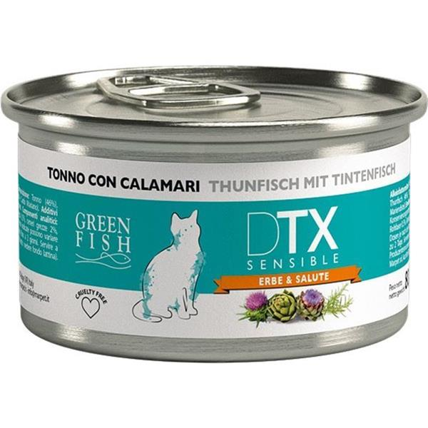 Green Fish Cat DTX Sensible tuna z lignji 80g