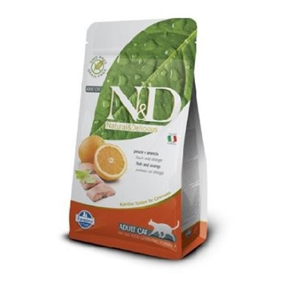 N&D Adult Cat Fish and Orange Grain Free