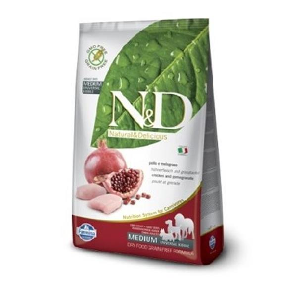 N&D Adult Dog Chicken and Pomegranate Grain Free
