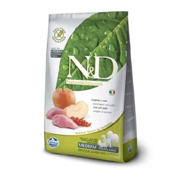 N&D Adult Dog Medium Boar and Apple Grain Free