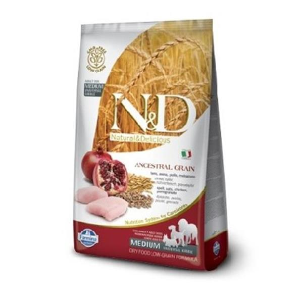 N&D Adult Dog Chicken and Pomegranate Low Grain Medium