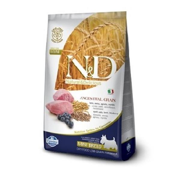 N&D Adult Dog Lamb and Blueberry Low Grain Mini