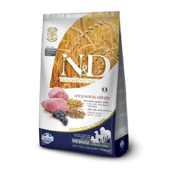 N&D Adult Dog Lamb and Blueberry Low Grain Medium