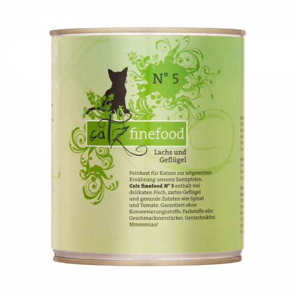 Catz Finefood no. 05 losos in perutnina 800g