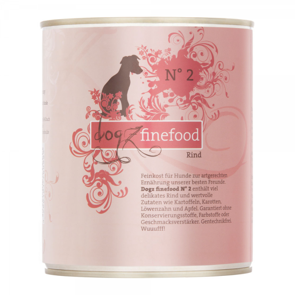 Dogz Finefood no. 2 govedina 800g