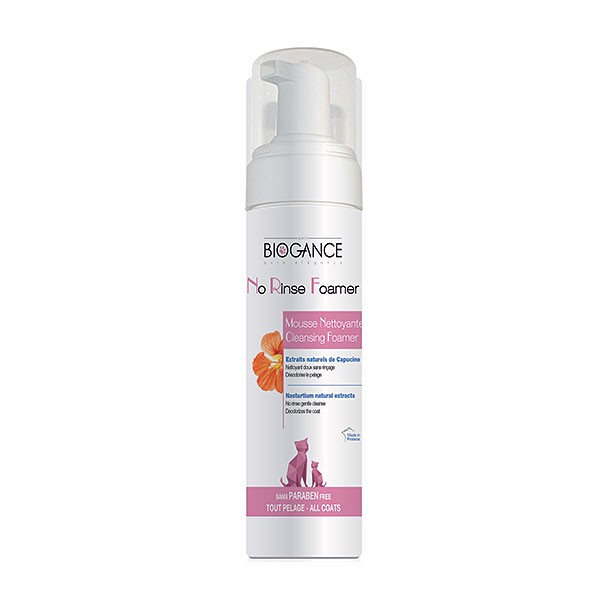 Biogance No Rinse Cat pena 200ml