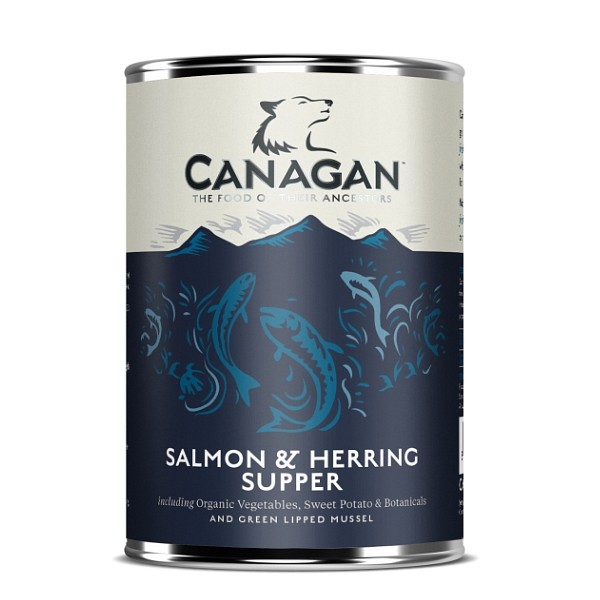Canagan Salmon and Herring Supper 400g