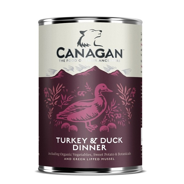 Canagan Turkey and Duck Dinner 400g