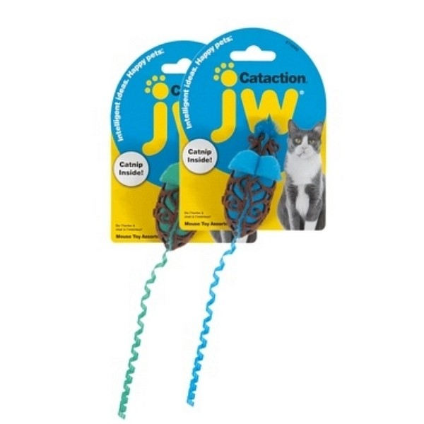 JW Pet Cataction Mouse Toy