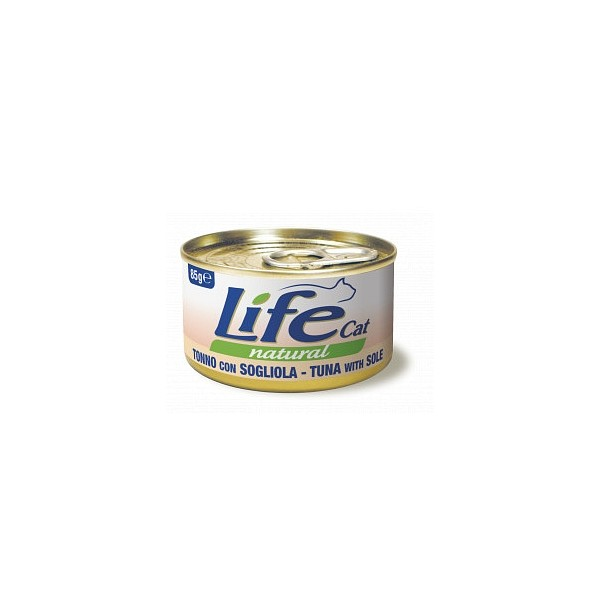 Lifecat paket konzerv tuna in morski list 6x85g