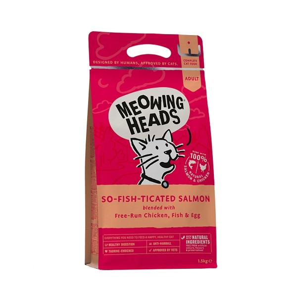 Meowing Heads briketi So-fish-ticated Salmon 1,5kg