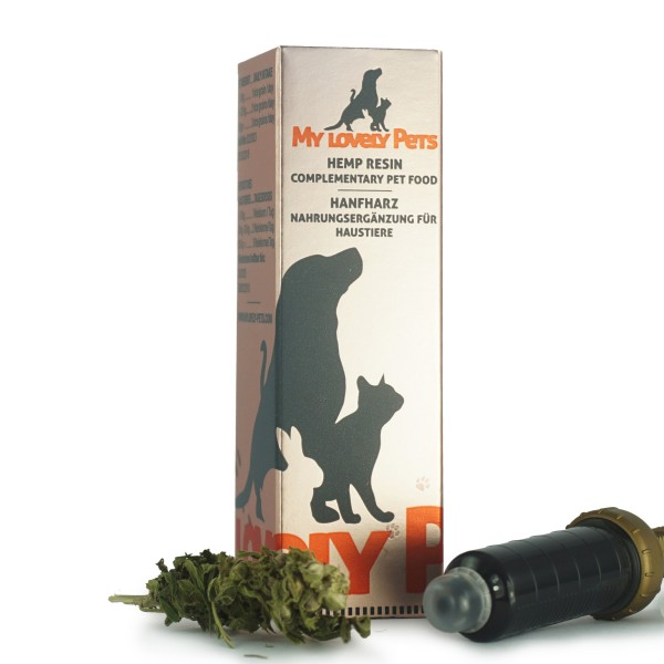 My Lovely Pets™ CBD konopljina smola 16% 5ml