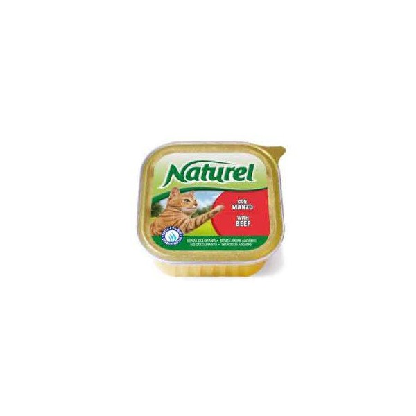 Naturel cat alu posodica govedina 100g