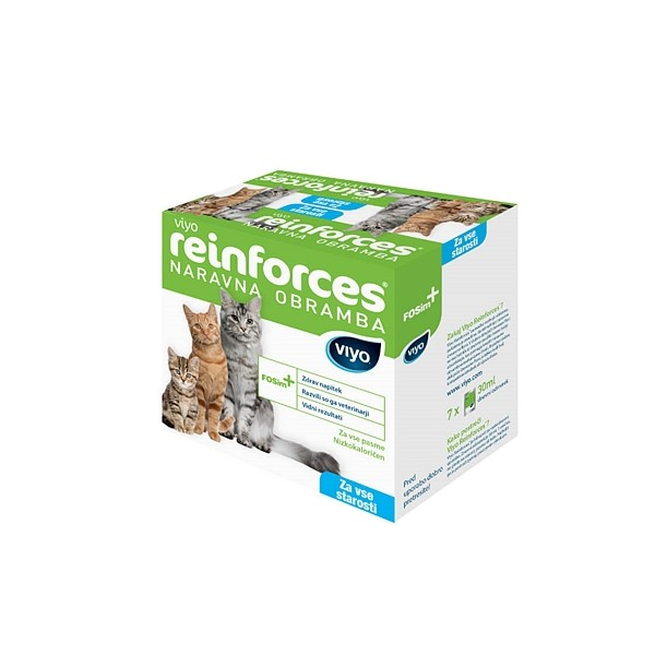 Viyo Reinforces cat All Ages 7 x 30 ml
