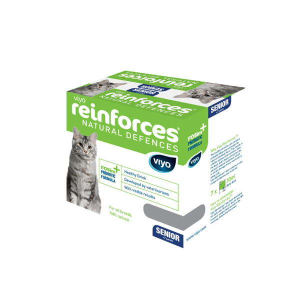 Viyo Reinforces cat Senior 7 x 30 ml