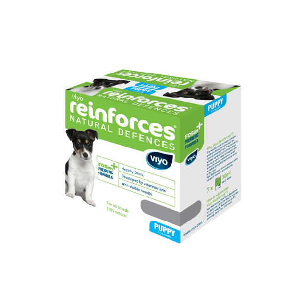 Viyo Reinforces dog Puppy 7 x 30 ml