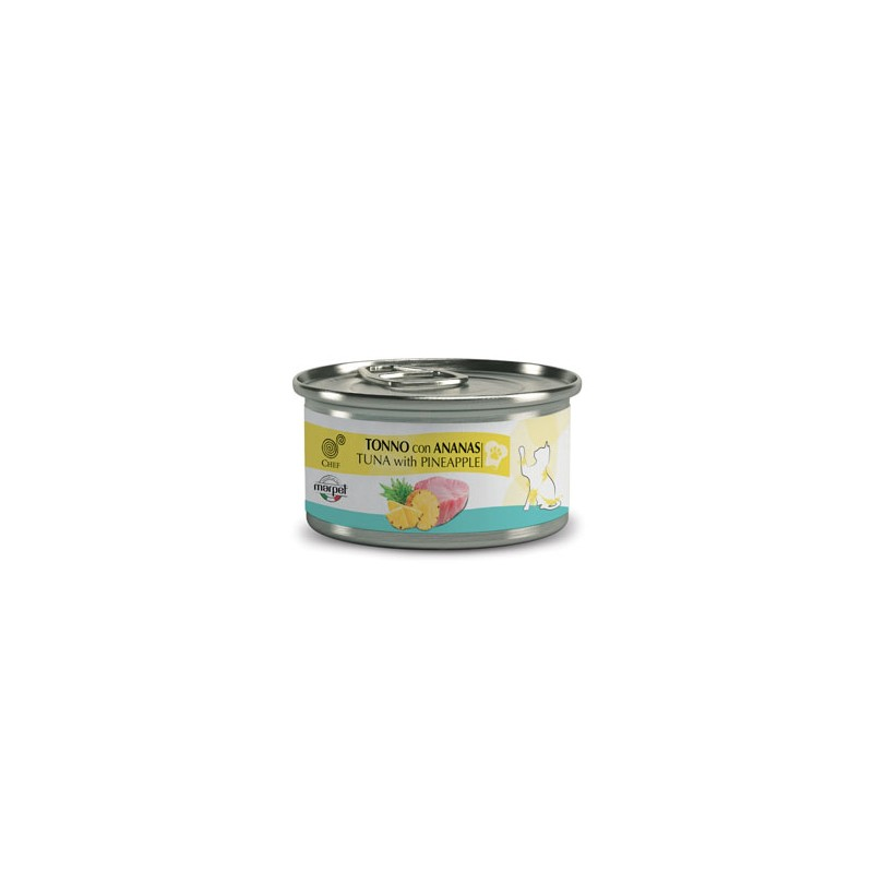 CHEF Tuna z ananasom 80g