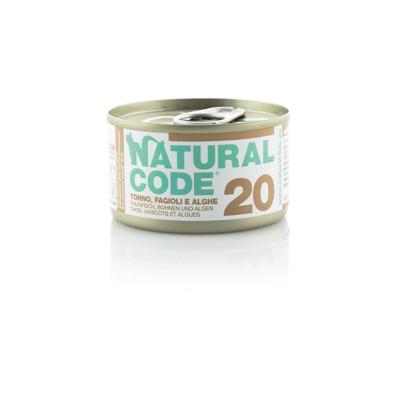 Natural Code 20 Tuna, stročnice in morske alge 85g