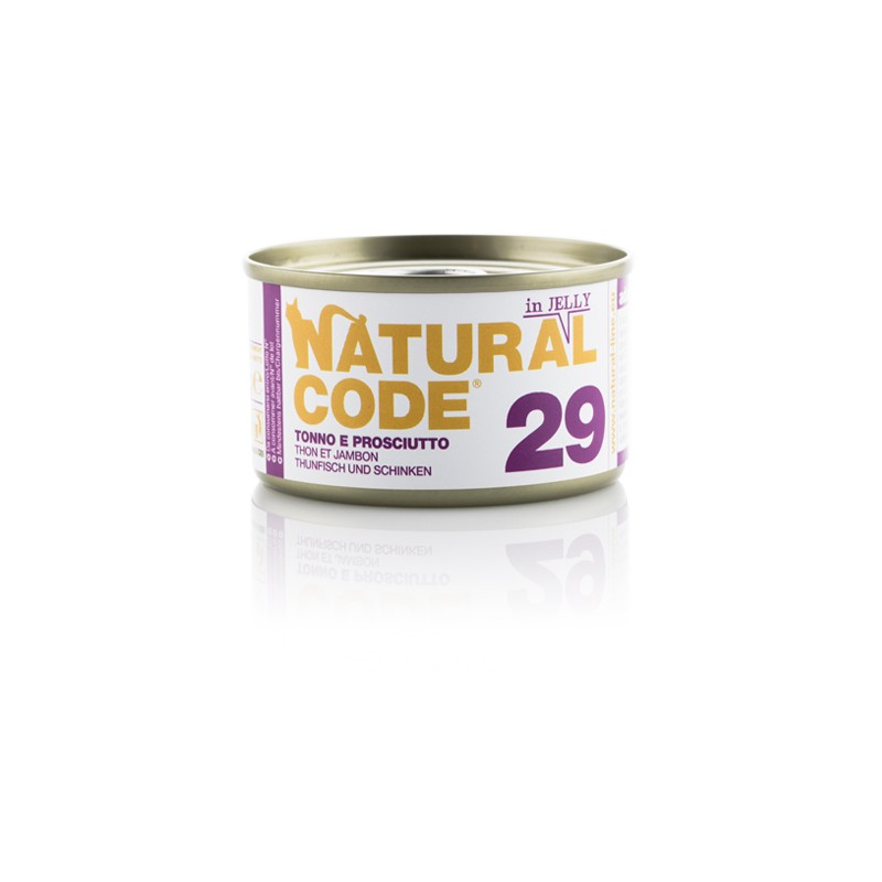 Natural Code 29 Tuna in šunka v želeju 85g